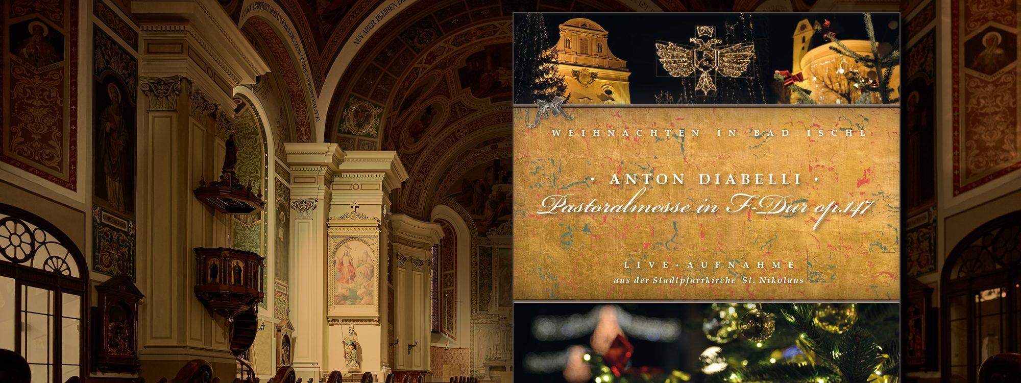 Anton Diabelli - Pastoralmesse in F-Dur op-147 - Live-Aufnahme auf CD